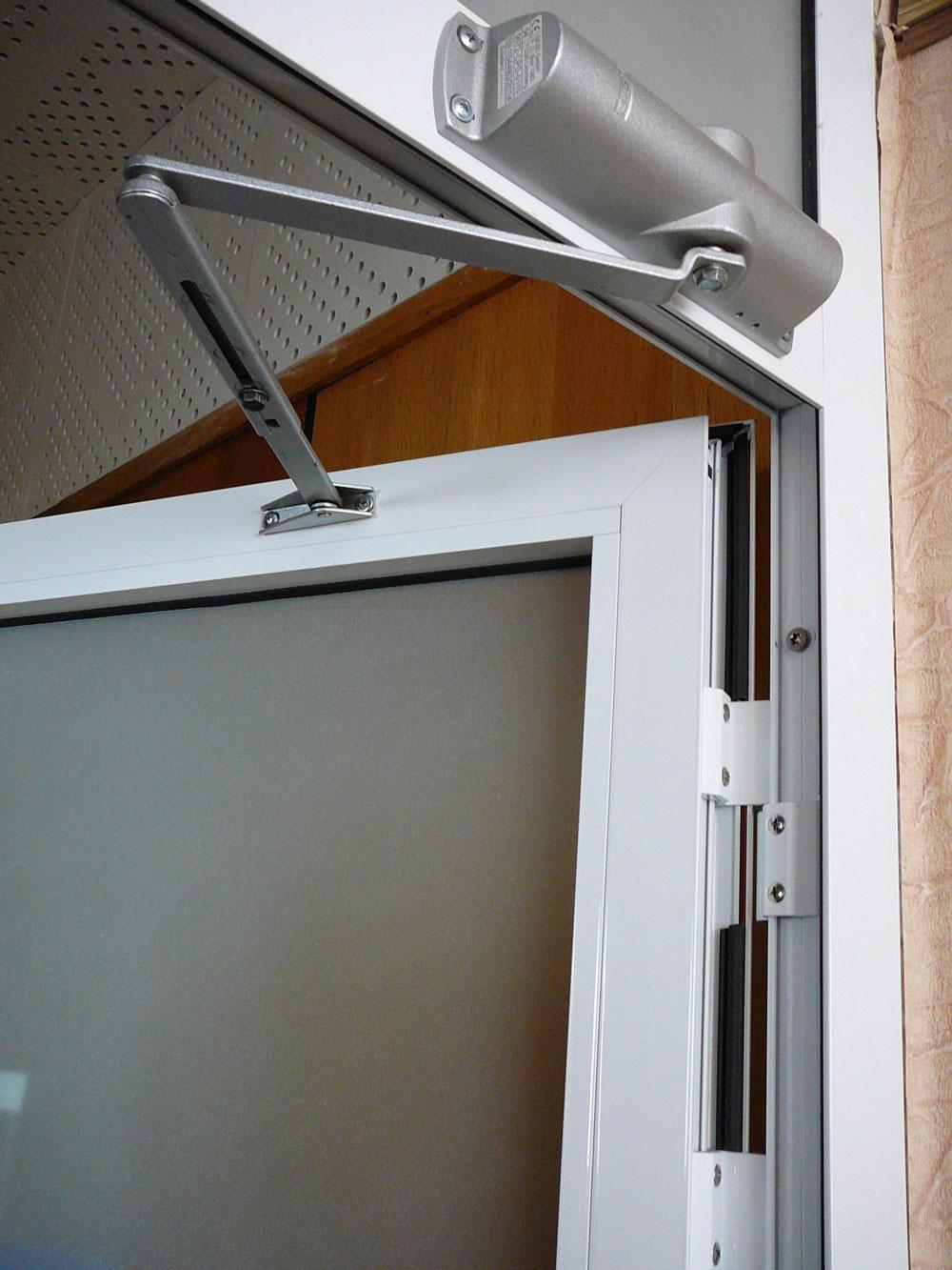 Krauss ( проведал ) алюминиевые двери.
