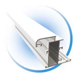 Алюминиевый профиль в разрезе алюминиевые двери, двери из ал.
